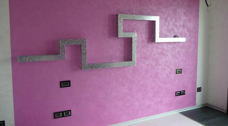 Pitture Per Pareti Glitterate : Pittura per pareti come rinnovare le pareti