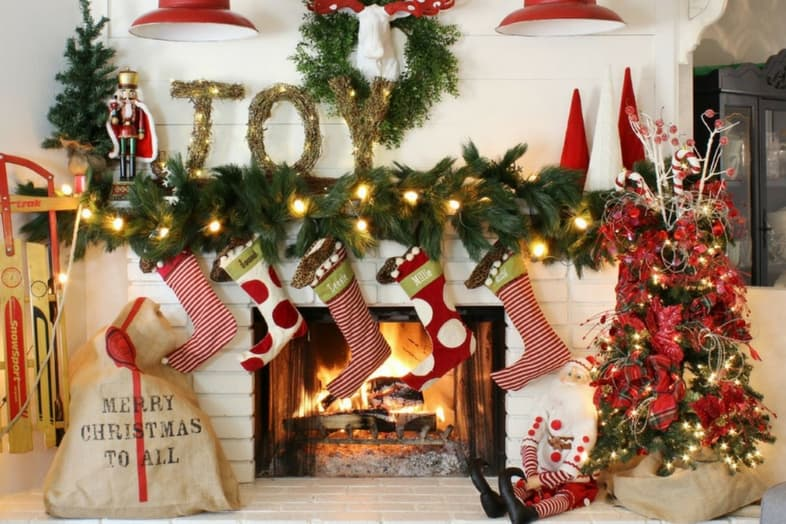 Il nostro regalo di natale idee per un arredamento natalizio for Arredamento natalizio casa