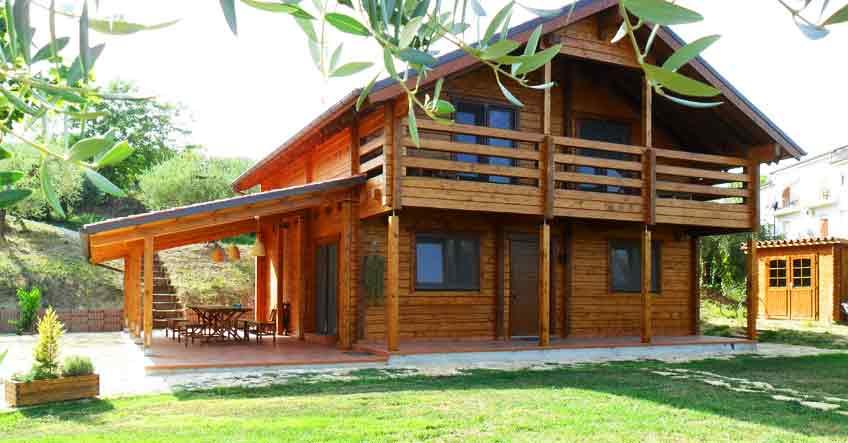 Casa prefabbricata in legno vivere una vita pi naturale - Vivere in una casa di legno ...