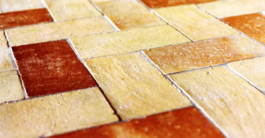 pavimento idee Rustico : Pavimento Rustico