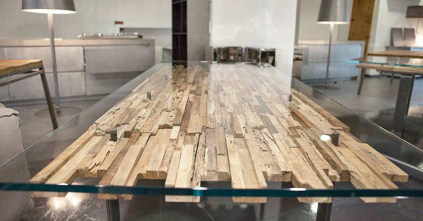 Arredamento per la casa - Mobili con legno di recupero ...
