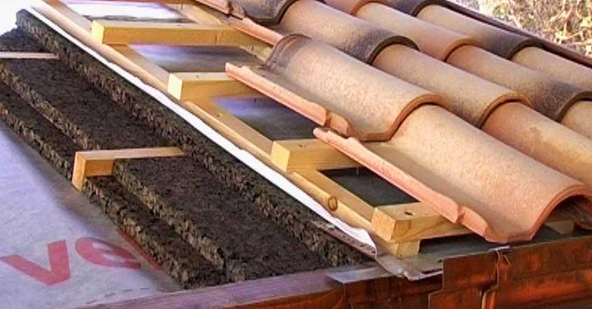 Isolamento termico del tetto comfort quattro stagioni