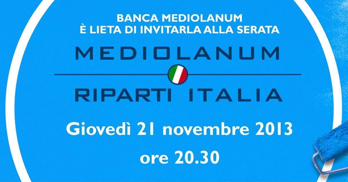 Riparti italia for Nuovi prestiti immobiliari