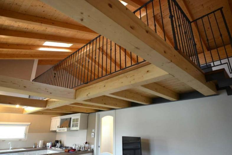 Soppalco in casa tipologie e caratteristiche - Soppalco in legno autoportante ...