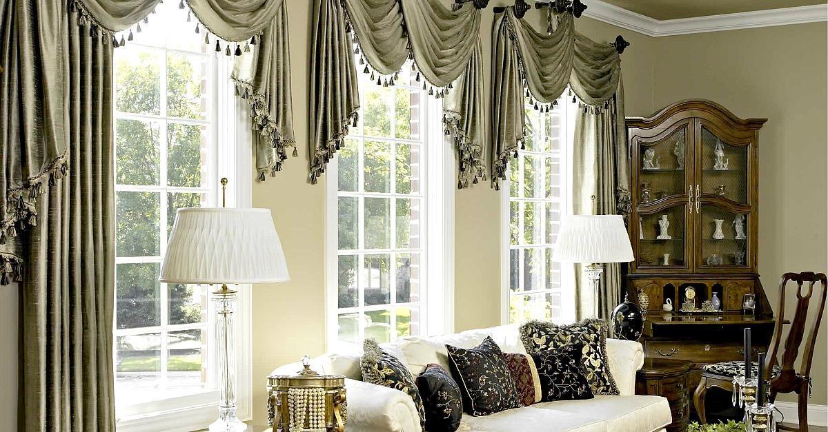 Tende classiche - Tende classiche camera da letto ...